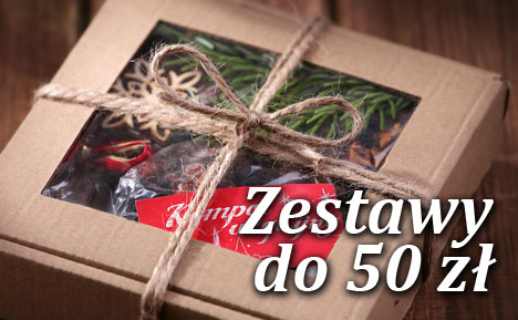 Zestawy prezentowe do 50 zł